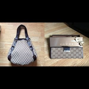 *AUTH GUCCI BAG & WALLET