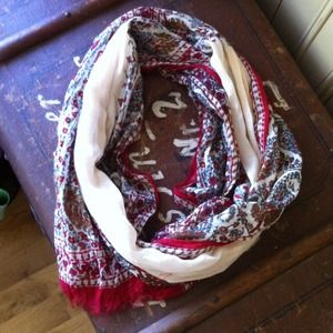 Reserved for bundle Paisley floral scarf