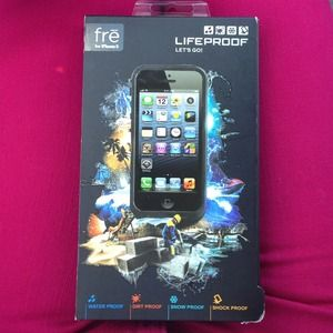 Other - ⛔Reduced⛔Frē Lifeproof iPhone 5 black case