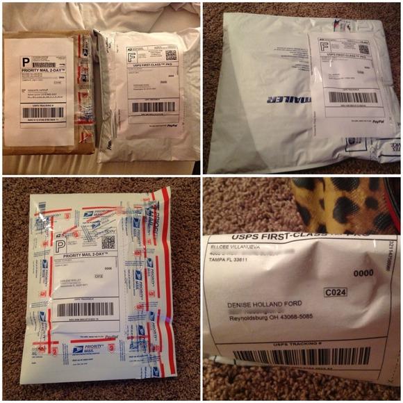 9aa14c6588aad Victoria's Secret Bags   Proof Of Delivery   Poshmark