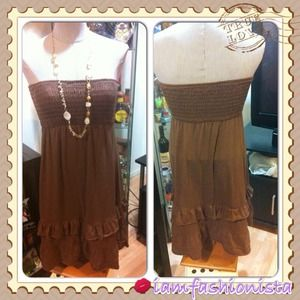 American Rag Cie Dresses & Skirts - ✳SALE✳Sexy tube brown Dress by American Rag CIE👗