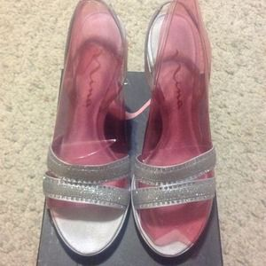 68 Off Nina Shoes Just Reduced Nina Gold Sparkle