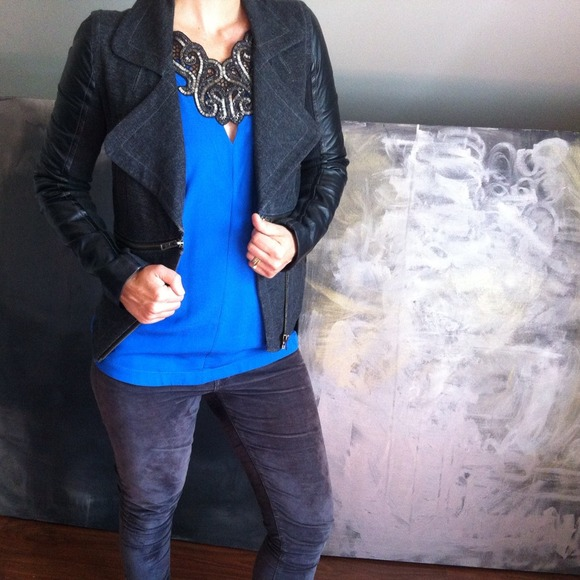 #closetcrush Tops - Poshfind : ) - Isabel marant blouse & Yigal jacket