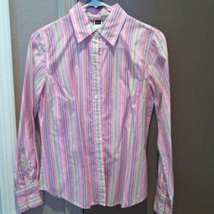Candy Striped JCrew Shirt