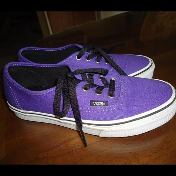 3aa7edbba5 Vans Shoes - Purple Vans Size 5.5 Men s