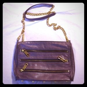 HOST PICK 1.18 Rebecca Minkoff 5 Zip in Purple