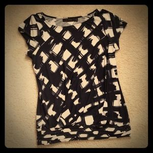 Limited Black & White Top