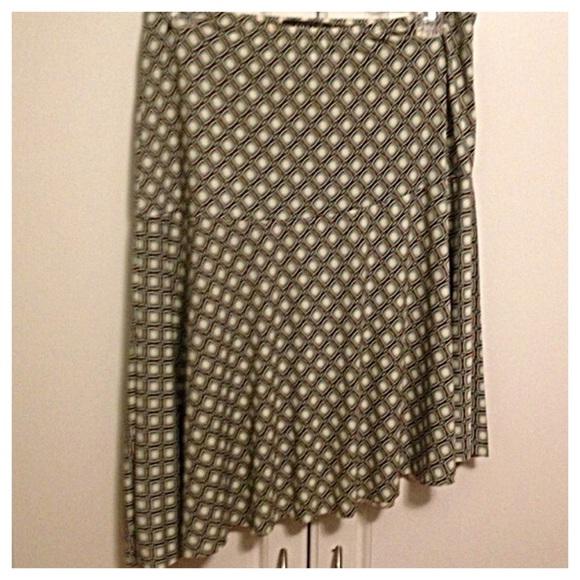 Rampage Dresses & Skirts - Asymmetrical Patterned Skirt