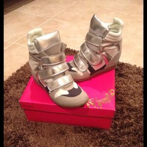 Candies Shoes - Wedge sneakers