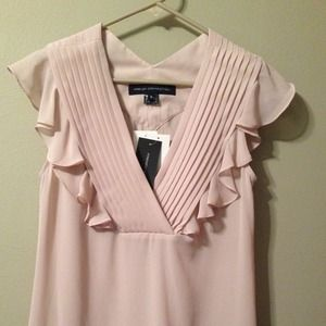 French Connection Chiffon Top