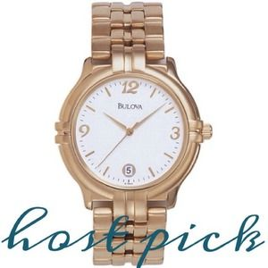 Bulova Gold Bracelet Watch