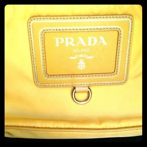 AUTHENTIC PRADA beautiful shoulder bag/clutch!