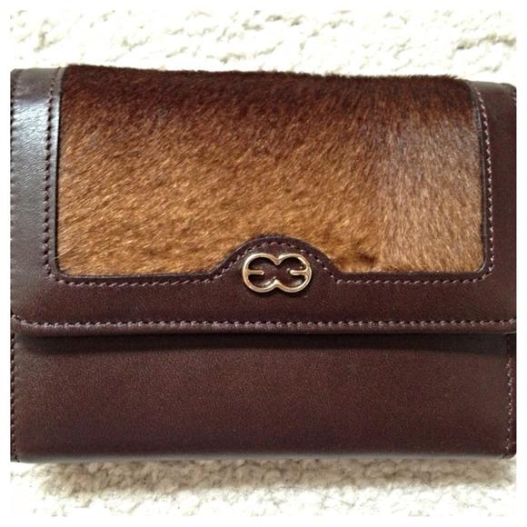 Escada Leather Wallet