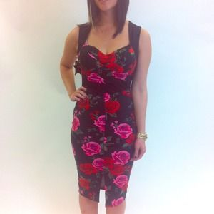 Dresses & Skirts - Brand New Retro Rose Dress