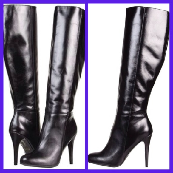 36 aldo boots aldo morono knee high boots black