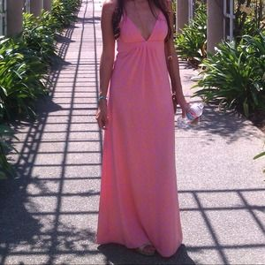REDUCED Maxi Dress Pink