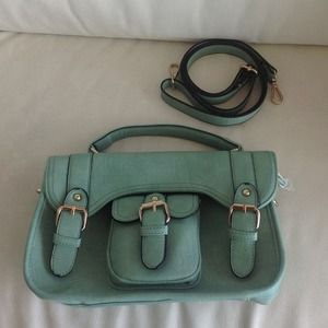 REDUCED Mint satchel