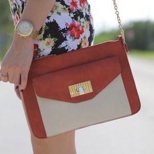 Two tone small bag