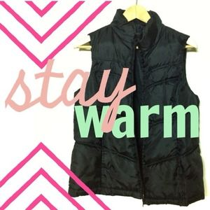 Outerwear - ❗ON HOLD❗Warm Black Vest