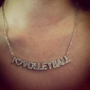 Hold for @katiebug17 4/4 I❤Volleyball pendant