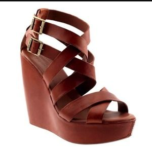 Kork-Ease Hailey wedge sandal- NIB