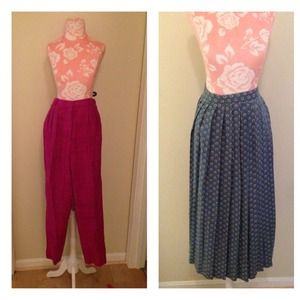 Pants - Pants and maxi skirt