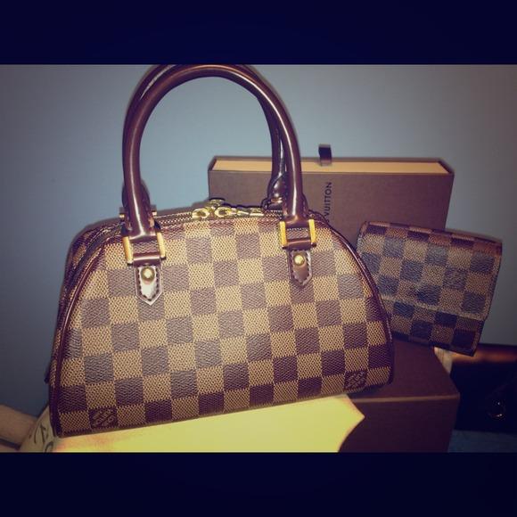 fdb7aeb66cd4 Louis Vuitton Handbags -  SOLD  Louis vuitton damier ebene ribera mini
