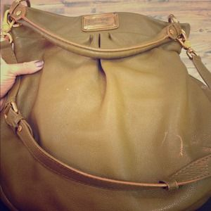 Marc Jacobs hobo purse, olive green