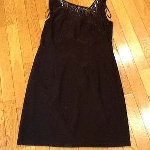 Cute Black dress with sequin detail size 10