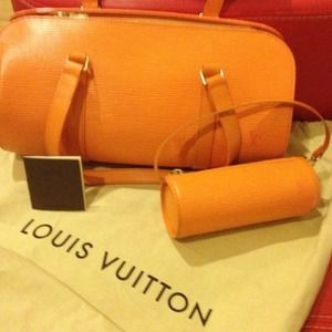 Limited edition Louis Vuitton leather bag