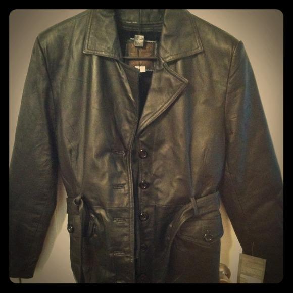 bbec5e4440fc moda italy Jackets & Coats | Genuine Italian Leather Jacket | Poshmark
