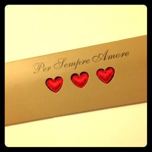 cruciani Jewelry - Cruciani Love Love Love bracelet in red.