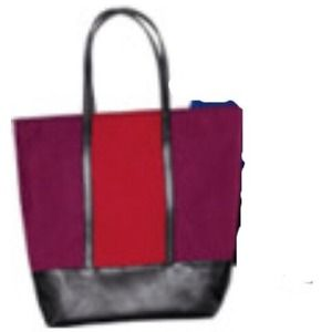 Avon  Handbags - 💜Color block tote bag💜👜