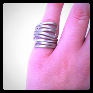 VINTAGE silver ring!