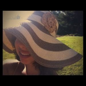 Cute striped Sun hat