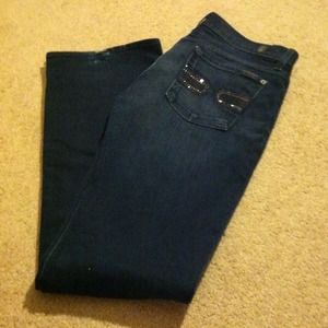 7 for all Mankind Denim - Dark wash 7 for all mankind jeans.