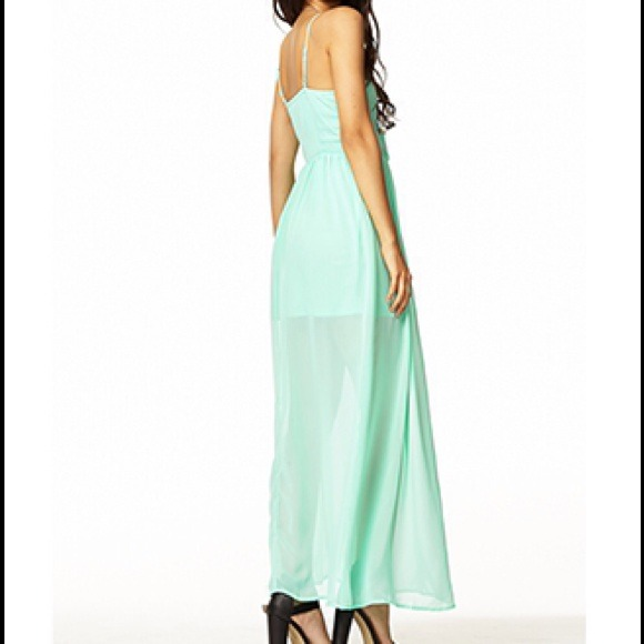 Forever 21 - *******SOLD **********Mint maxi dress from Natalie's ...