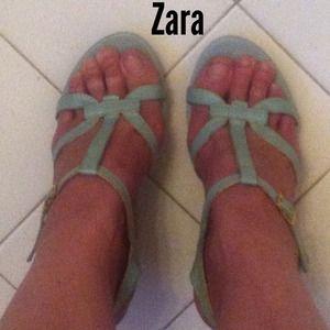 Vintage Zara sandal wedges