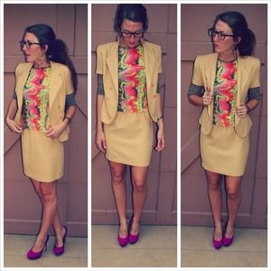 2 piece stylish suit!