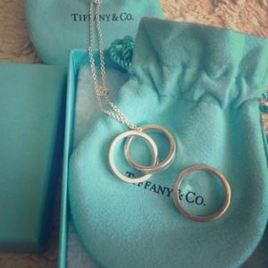 Tiffany's necklace and ring
