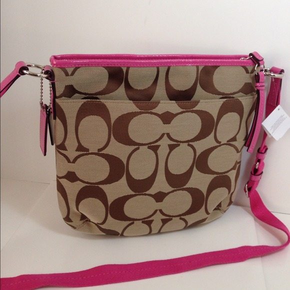 Coach Crossbody Brown Leather Bag Crossbody Bag Coach