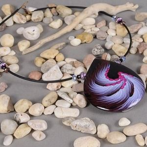Accessories - Handmade polymer necklace