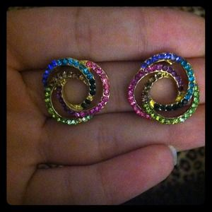 Jewelry - Colorful Studs.