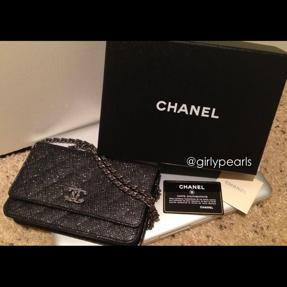 chanel limited edition chanel wallet on chain woc from