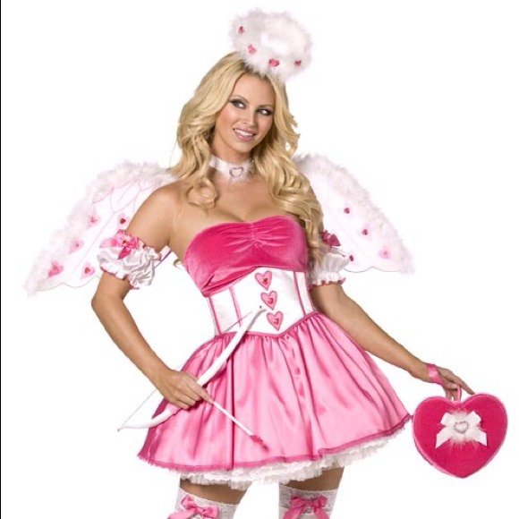 Cupid Halloween Costume | Dresses Brand New Never Used Sexy Cupid Costume Halloween Poshmark