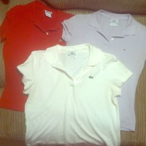 Choice of Lacoste Polo (💯 Auth)