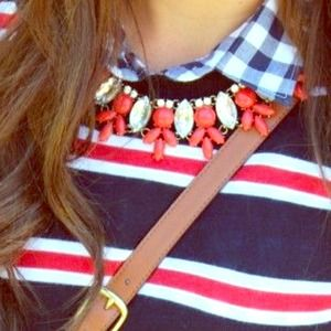 Jewelry - Red J. Crew lookalike necklace