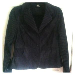Navy Blue Blazer (Size Medium)