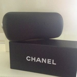 CHANEL Accessories - Chanel Sunglass Case, Cloth & Box