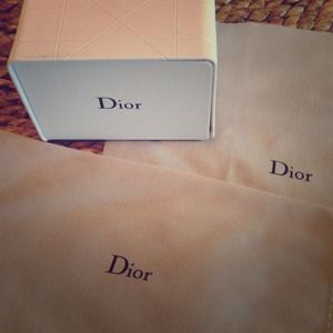 Authentic Dior Sunglasses Case